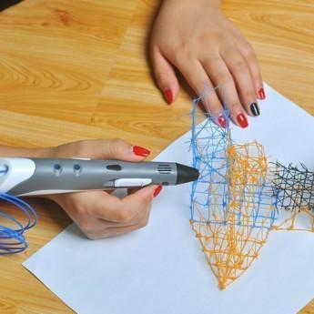Создание объемных изображений с помощью 3D-ручки