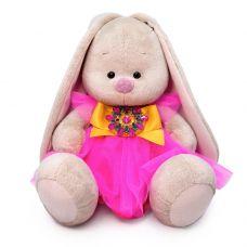Мягкая игрушка Зайка Ми Розовый кварц