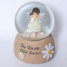 Снежный музыкальный шар Lady Angel Player