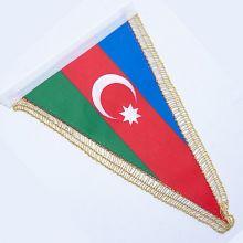 Флаг Азербайджана (вымпел) 24 х 8 см