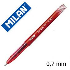 Гелевая шариковая ручка MILAN 0.7 мм (красный)