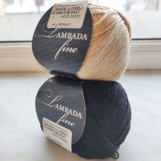 Пряжа для ручного вязания LAMBADA FINE Сеам (SEAM)