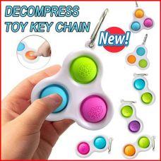 Антистресс - сенсорная игрушка Вечная пупырка Fidget Спиннер Симпл Димпл Simple Dimple