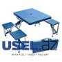 Складной портативный кемпинговый стол и стулья для пикника