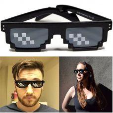 Thug Life Glasses 8 bits