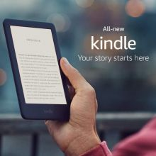 Электронная книга All-new Kindle - Now with a Built-in Front Light