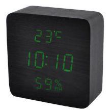Электронные деревянные часы VST-872