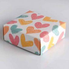 """Сборная коробка """"Меловые сердца"""""""