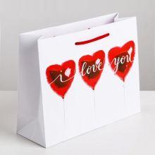 """Пакет ламинированный вертикальный """"Любовь повсюду"""""""