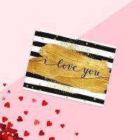 """Открытка-комплимент """"Love you"""""""