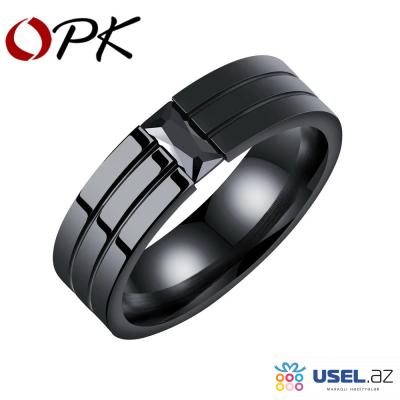OPK Кольцо из нержавеющей стали (Размер 8)