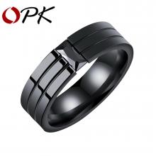OPK Кольцо из нержавеющей стали (Размер 7)