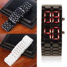Пластиковые часы в японском стиле Iron Samurai