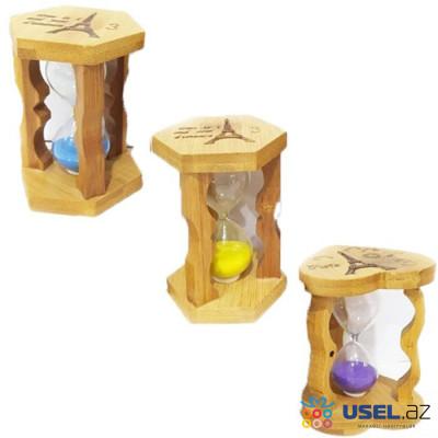 Деревянные песочные часы, 3 минуты