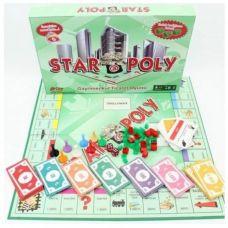 Настольная экономическая игра - Poly Emlak Oyunu Metropol Monopoly Monopoli Star