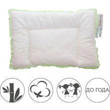 БИО Подушка для новорожденных Бамбуковый медвежонок
