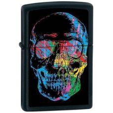 """Зажигалка Zippo """"X-Ray Skull"""" Matte"""