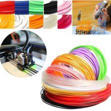 Пластик (чернила) для 3D ручки ABS, 1,75 мм, 10 метров, разные цвета