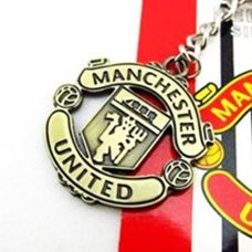 Keychain with the logo of the football club, in the range