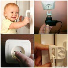 Замки-блокираторы для фиксации дверок и ящиков 100% Baby Safety