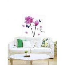 "Интерьерная наклейка на стену ""Peach Flowers"""