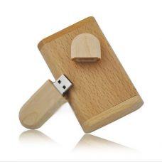 """USB флешка 8GB """"Деревянная"""""""