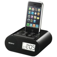 Sony ICF-C05iP FM Радио часы будильник док-станция для IPod / iPhone 4/4S
