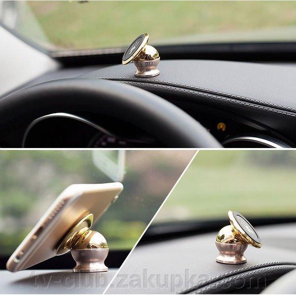 Магнитный шар держатель для телефона  для салона автомобиля (машины)