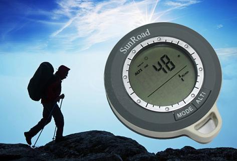 4 в 1 цифровой компас, альтиметр, барометр, термометр
