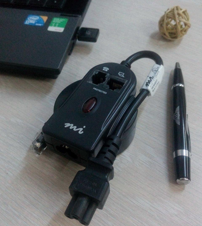 Защитный сетевой фильтр Mi micro для ноутбука