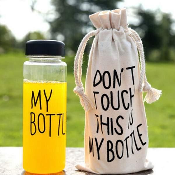 Бутылка MY BOTTLE из экологического пластика
