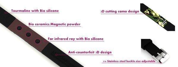 Спортивный браслет Power Ionics PT048 3000 ионов/см3