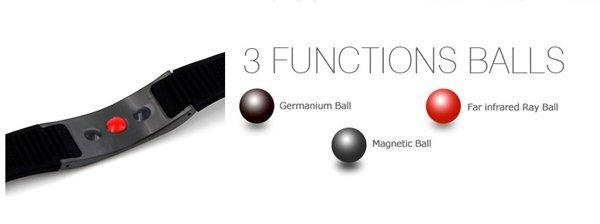 Энергетический браслет 4 в 1 Power Ionics 3000 ионов. Турмалин. Титан. Германий.