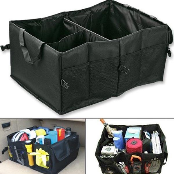 Складной органайзер для багажника автомобиля
