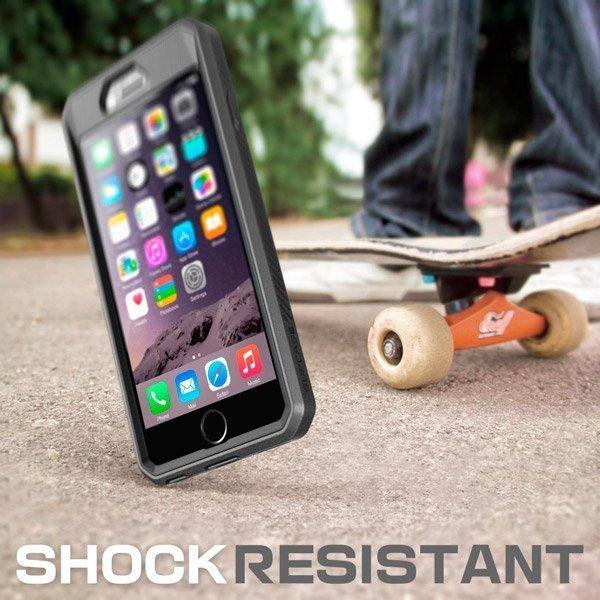 Сверхмощный чехол для iPhone 6 SUPCASE с клипсой и встроенным Screen Protector