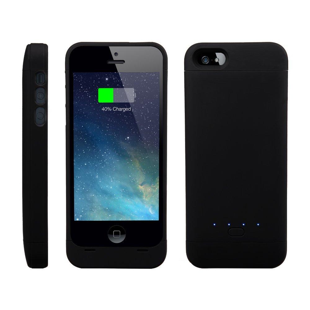 2200mAh зарядное устройство - чехол для Apple iPhone 5 / 5S