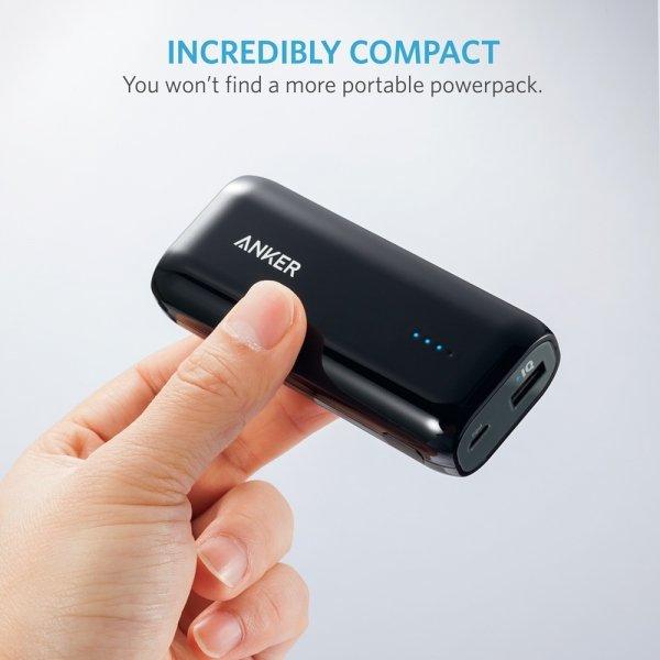 Внешний аккумулятор USB Anker Astro E1 5200mAh