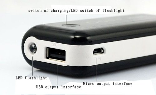 Внешний аккумулятор Power Bank 5600mAh