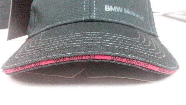 Оригинальная лицензионная кепка-бейсболка BMW Motorrad