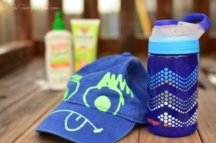 Детская бутылка Contigo Autoseal Gizmo Sip, Sapphire