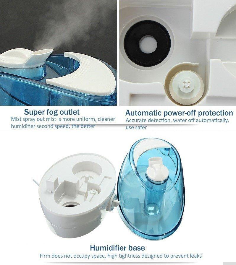 Ультразвуковой увлажнитель воздуха с вентилятором 220V