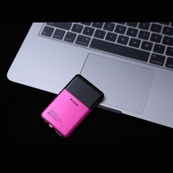 Имиджевый плоский мини телефон Anica A2 размером с кредитку