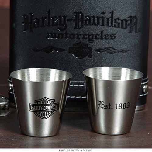 Подарочный набор фляга со стопками Harley-Davidson