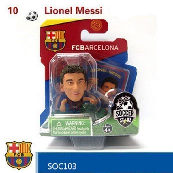 Коллекционные фигурки популярных футболистов Soccerstarz
