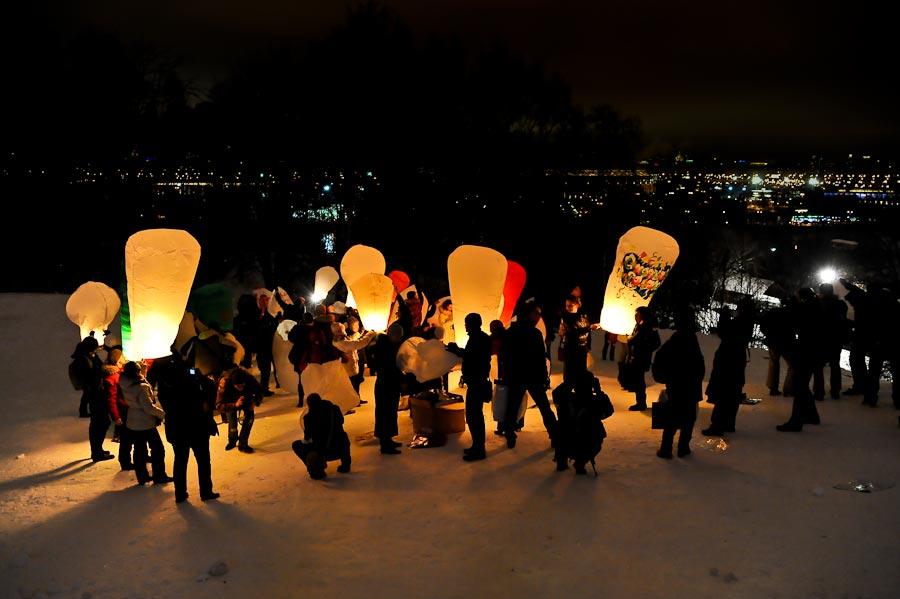 Купить небесный фонарик в Баку