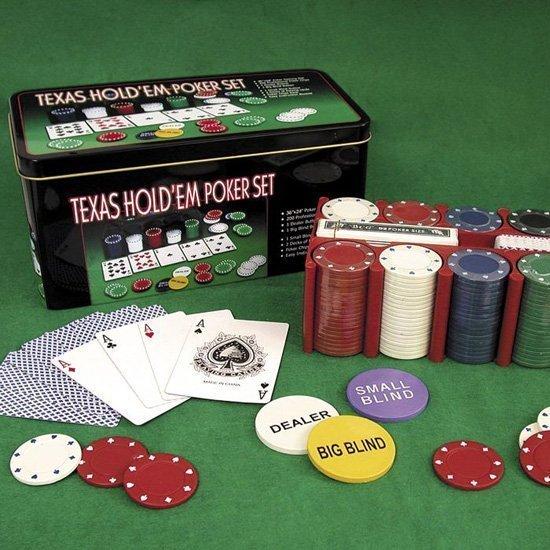 Покер-сет Texas Hold'em