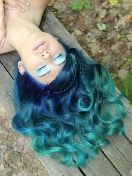 12 цветных мелков для волос