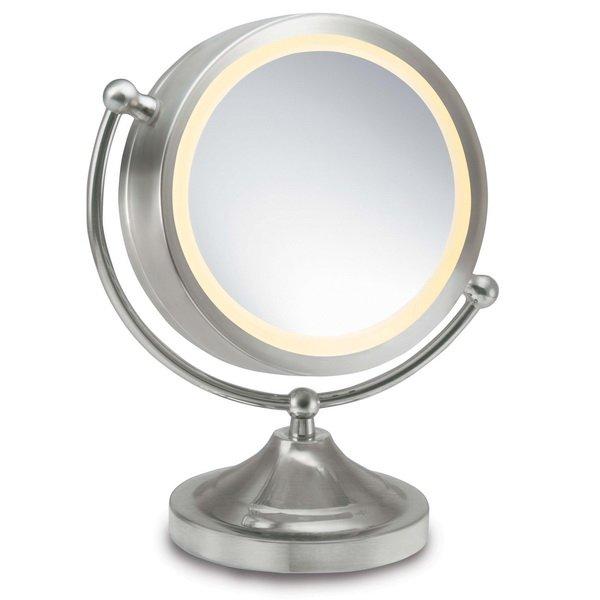 Двустороннее зеркало с функцией İllumi-touch от Homedics