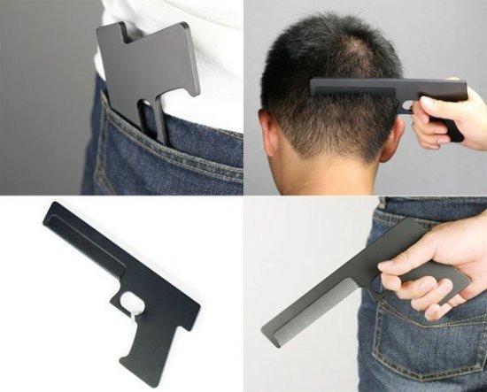 """Расческа """"Пистолет"""""""