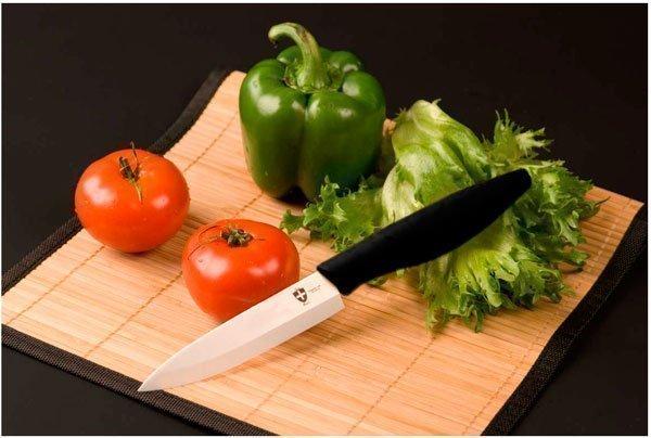 Швейцарский кухонный керамический нож